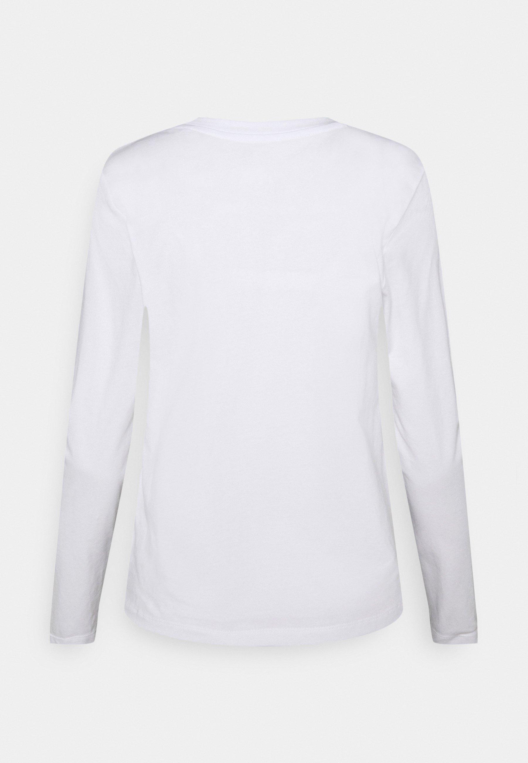 Donna STRAIGHT CREW - Maglietta a manica lunga