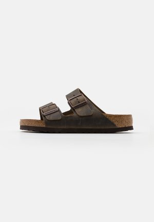 ARIZONA UNISEX - Slippers - mud green