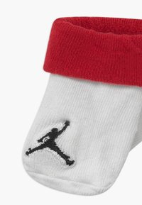 Jordan - JUMPMAN COLOR BLOCKED BOOTIE 2 PACK - Sportsokken - red - 3