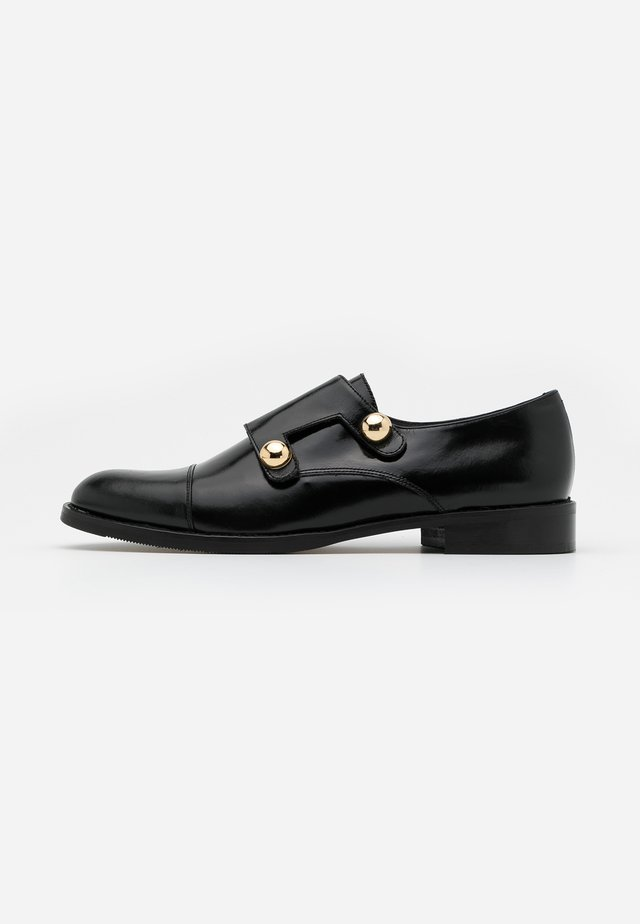 DUSTA - Scarpe senza lacci - noir