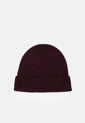 APPAREL ACCESSORIES HAT UNISEX - Čepice - aged wine heather