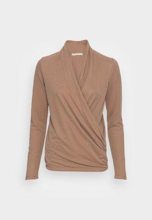 ALANO WRAP  - Long sleeved top - camel