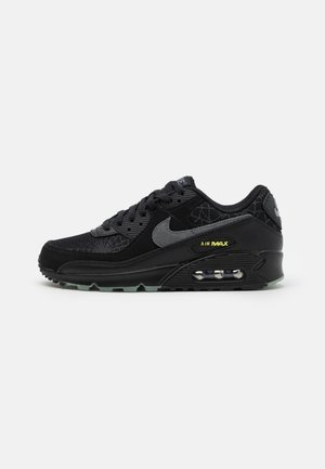 AIR MAX 90 UNISEX - Sneakersy niskie - black/smoke grey/limelight