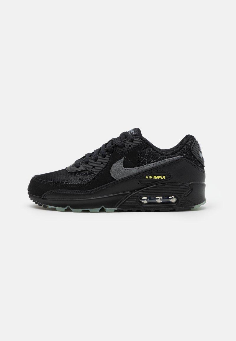 Nike Sportswear - AIR MAX 90 UNISEX - Sneakers laag - black/smoke grey/limelight