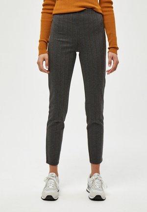 GEM - Leggings - Trousers - dark grey melange