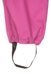 CeLaVi - RAINWEAR SUIT BASIC SET WITH FLEECE LINING - Kalhoty do deště - real pink - 6