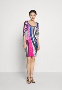 Just Cavalli - Pouzdrové šaty - blue - 1