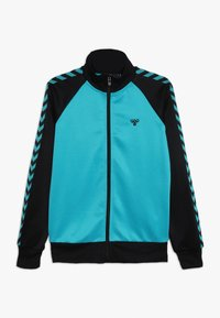 Hummel - HMLKICK - Training jacket - black/lake blue - 0