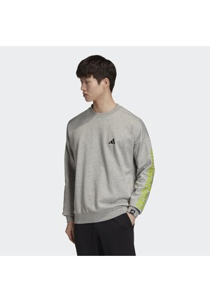 THE 3-STRIPES GRAPHIC SWEATSHIRT - Sudadera - grey