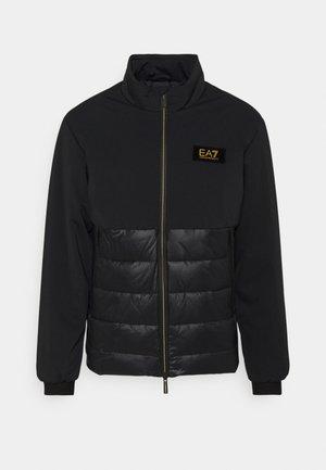 Lehká bunda - black/gold-coloured