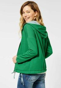 Cecil - Zip-up hoodie - grün - 1