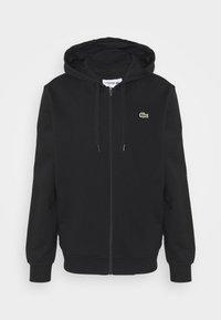 CLASSIC HOODIE - Felpa con zip - black