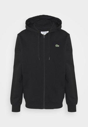 CLASSIC HOODIE - Zip-up hoodie - black
