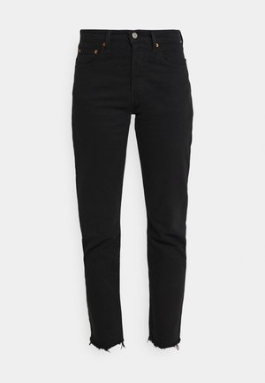 501 CROP - Jeans Tapered Fit - pitch dark