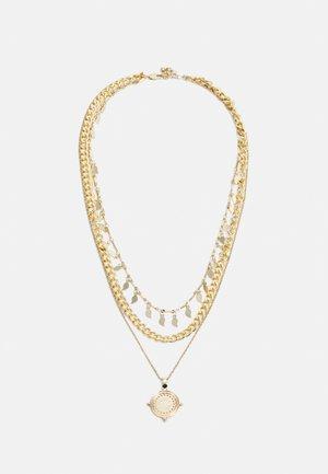PCKETTIA COMBI NECKLACE  - Necklace - gold-coloured