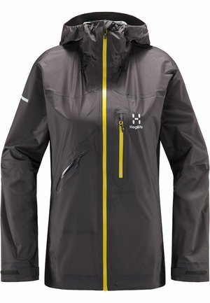 HAGLÖFS REGENJACKE L.I.M CROWN JACKET WOMEN - Windbreaker - magnetite