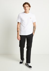 Dickies - 873 SLIM STRAIGHT WORK PANT - Kangashousut - black - 1