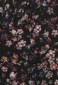 Abercrombie & Fitch - DRAMA BUTTON MINIDRESS - Kjole - black/multi - 2
