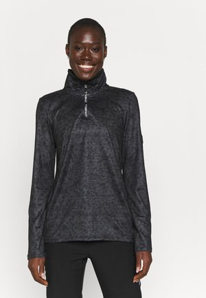 CLIME - Long sleeved top - grey/black