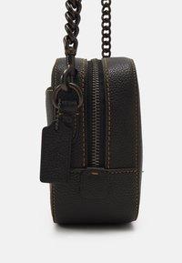 Coach - REXY AND CARRIAGE CAMERA BAG - Across body bag - black - 5