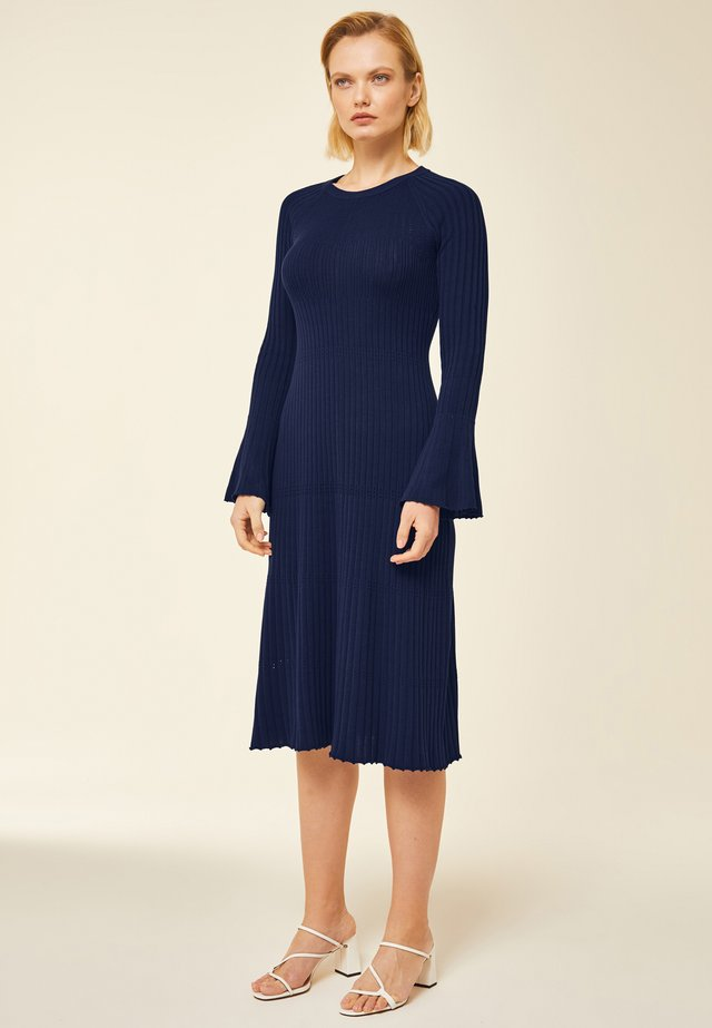 Jumper dress - indigo