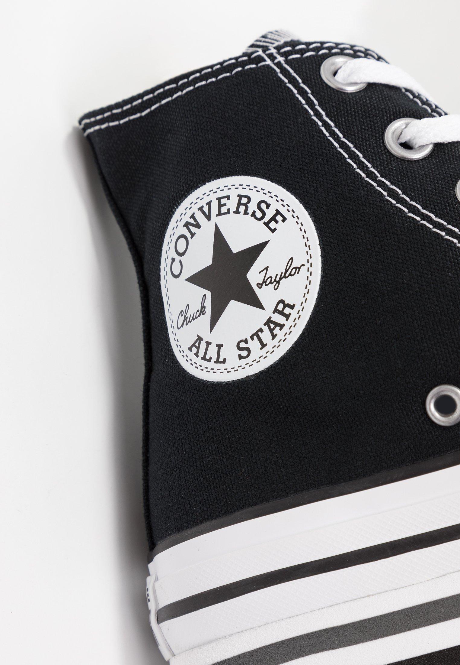 Converse CHUCK TAYLOR ALL STAR PLATFORM - Sneakers alte - black ...