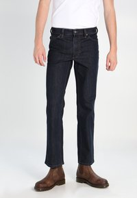 Mustang - PANTS - Straight leg jeans - stone washed - 0
