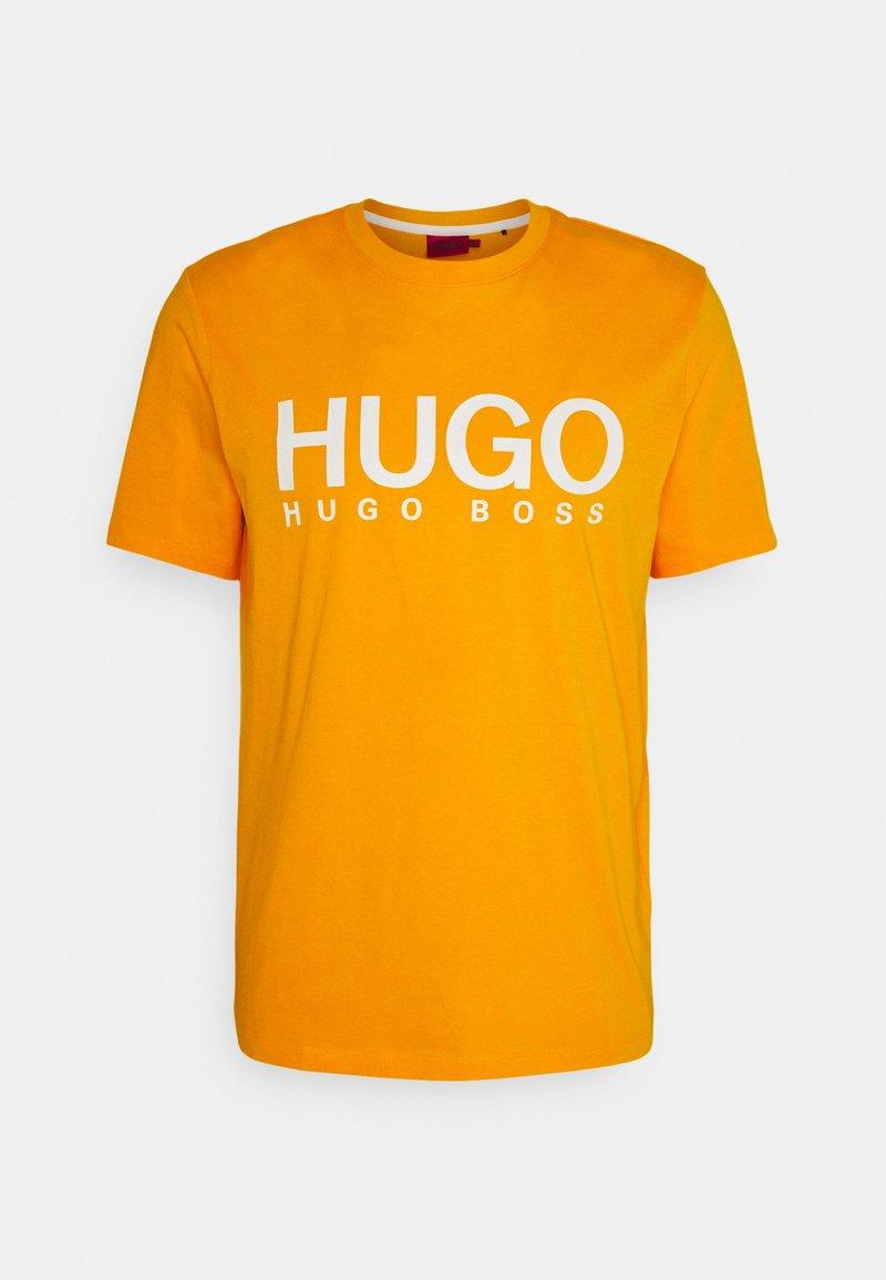 HUGO - DOLIVE - Print T-shirt - bright orange