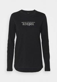 Diesel - UFSET-SILYBYX-LSPYJAMA - Pyjama set - black/argento/rosso - 1