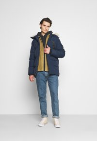 PARELLEX - REVOLT LONG BUBBLE JACKET - Winter coat - navy - 1
