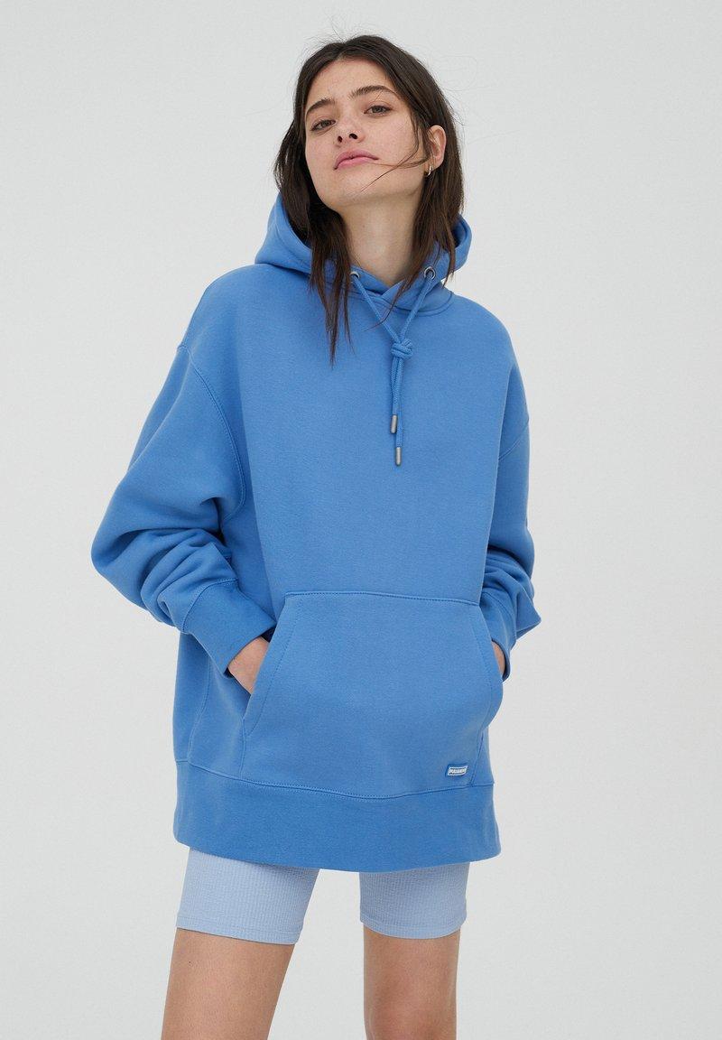 PULL&BEAR - Luvtröja - royal blue