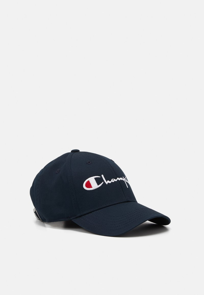 Champion Reverse Weave - CURVED VISOR UNISEX - Cap - dark blue
