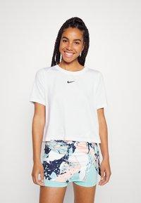 Nike Performance - Basic T-shirt - white/black - 0