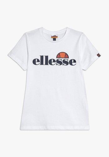 MALIA - Print T-shirt - white