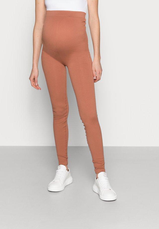 PCMRENNY SEAMLESS LEGGING LOUNGE  - Legging - russet