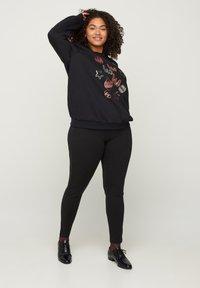 Zizzi - Sweatshirt - black - 0