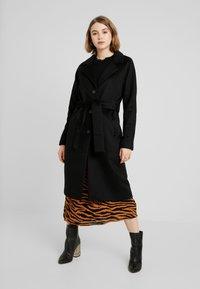 Object - Zimní kabát - black - 0
