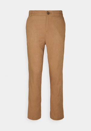 CUORKIDA PANTS - Trousers - brown sugar