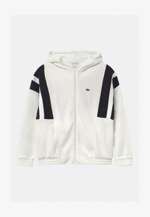 Zip-up hoodie - flour/abysm