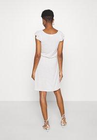 Vila - VIBARIA - Jersey dress - mottled beige - 2