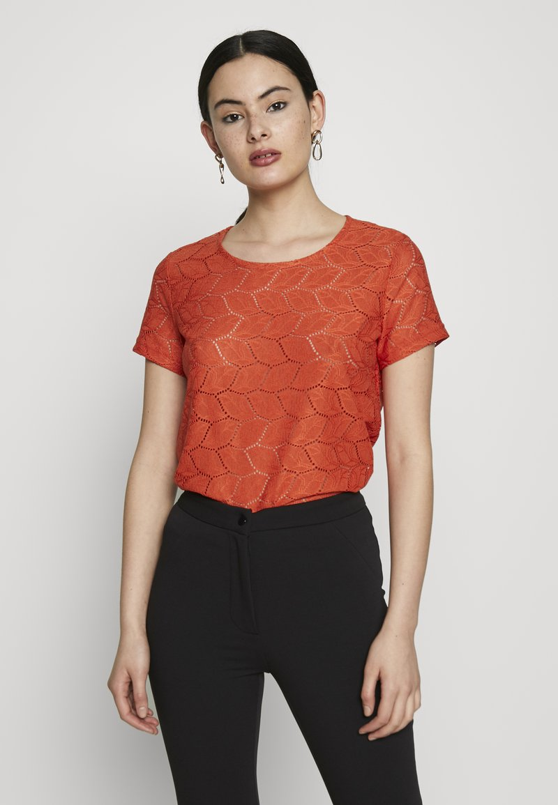 JDY - JDYTAG  - Print T-shirt - chili