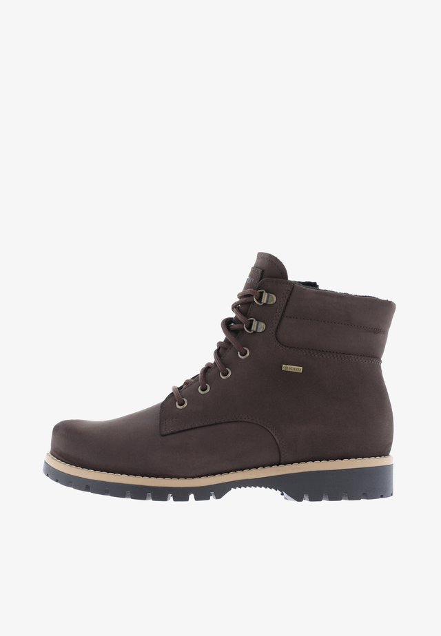 LAAVU - Veterboots - dark brown