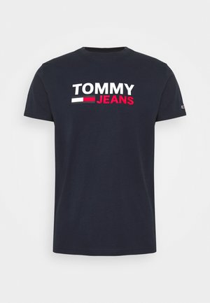 CORP LOGO TEE - T-shirt imprimé - twilight navy