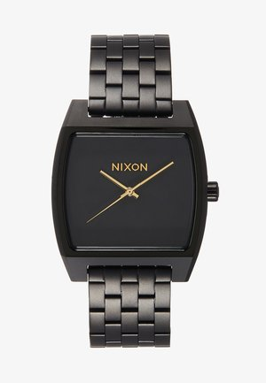 TIME TRACKER - Watch - matte black/gold-coloured