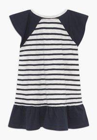 Ebbe - BELLE - Žerzejové šaty - off-white/dark-navy - 1