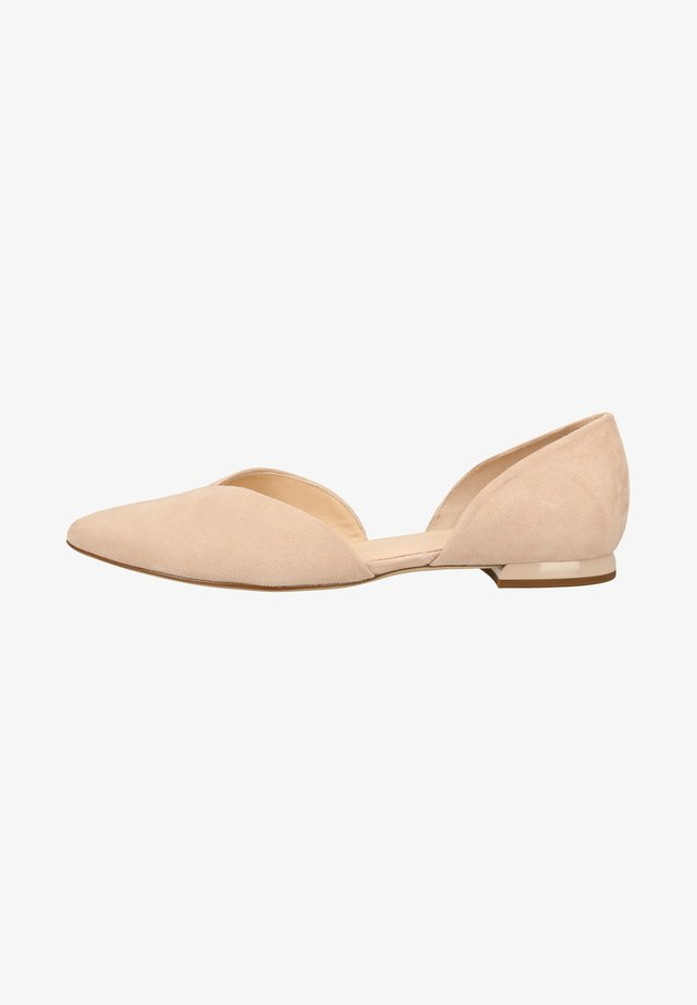 Ballet pumps - nude