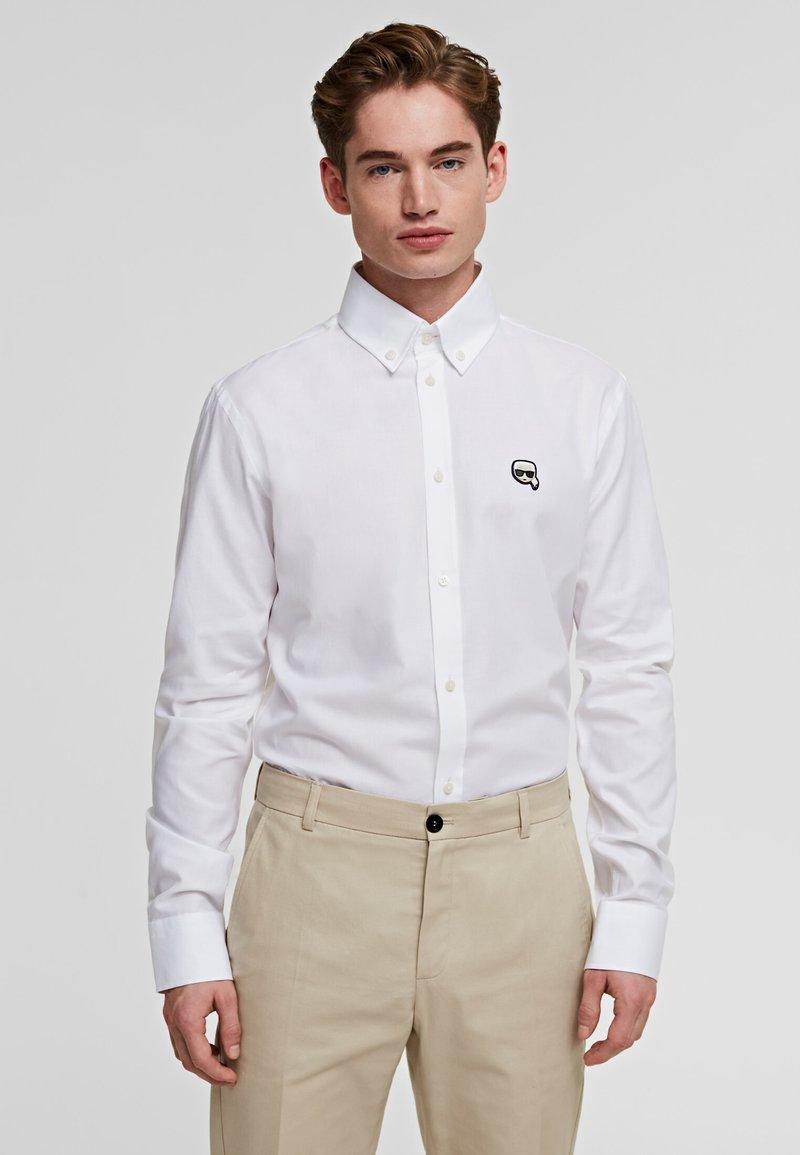 KARL LAGERFELD - Skjorta - white