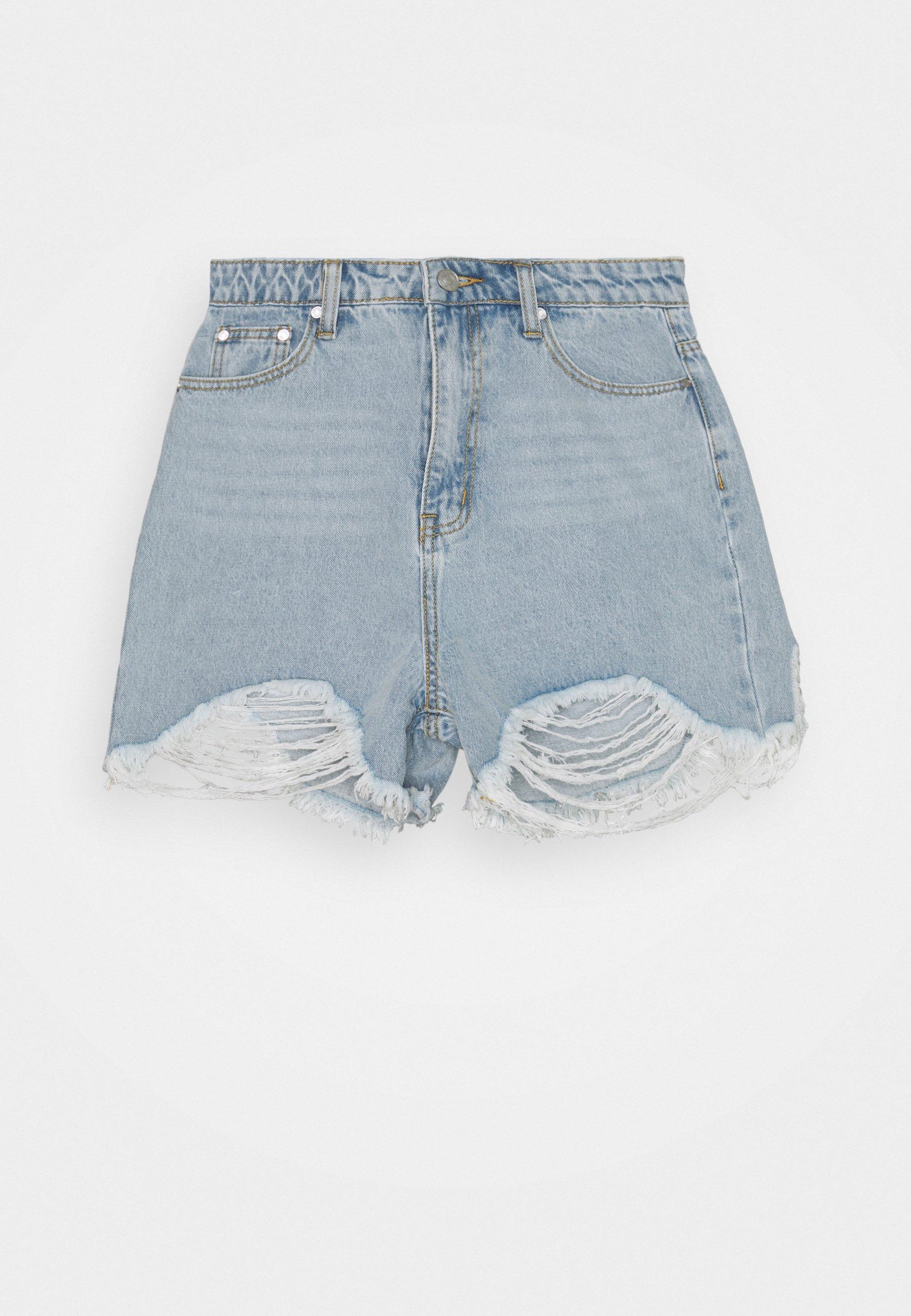 Women EXTREME FRAY RIOT - Denim shorts