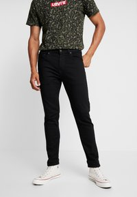 Levi's® Extra - 502™ TAPER HI BALL - Jeans Tapered Fit - black denim - 0