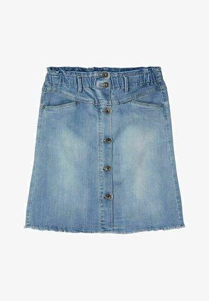 A-line skirt - light blue denim